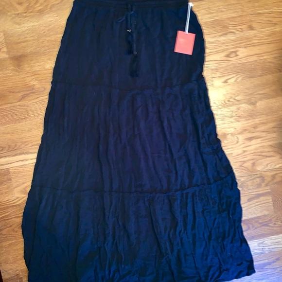 Xhilaration Dresses & Skirts - Long black skirt